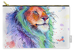 Easter Lion Carry-all Pouch by Arleana Holtzmann