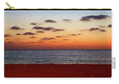 Carry-all Pouch featuring the photograph Easter Sunset by Amar Sheow