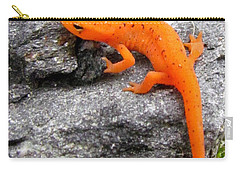 Orange Julius The Eastern Newt Carry-all Pouch by Lori Pessin Lafargue