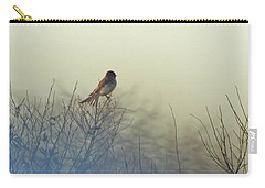 Carry-all Pouch featuring the photograph Eastern Phoebe Lacassine Pool  Lacassine Nwr by Lizi Beard-Ward