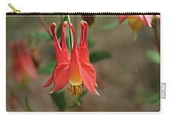 Wild Columbine Carry-all Pouch by William Tanneberger