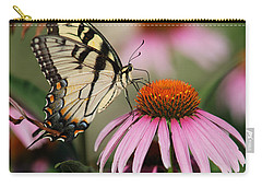 Swallowtail And Coneflower Carry-all Pouch