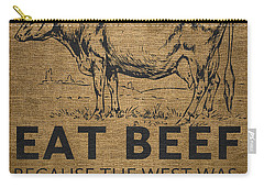 Eat Beef Carry-all Pouch