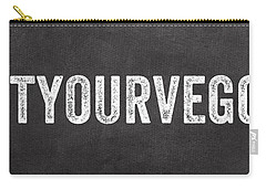 Eat Your Veggies Carry-all Pouch by Linda Woods