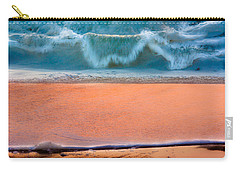 Ebb And Flow Carry-all Pouch by Edgar Laureano