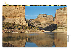Echo Park In Dinosaur National Monument Carry-all Pouch by Nadja Rider