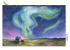 Echoes In The Sky Carry-all Pouch by Retta Stephenson
