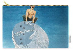 Carry-all Pouch featuring the painting Echoes by Lazaro Hurtado