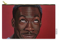 Eddie Murphy Painting Carry-all Pouch by Paul Meijering