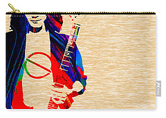 Eddie Van Halen Collection Carry-all Pouch by Marvin Blaine