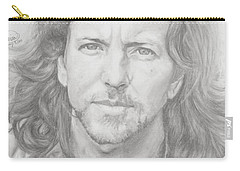 Eddie Vedder Carry-all Pouch by Olivia Schiermeyer
