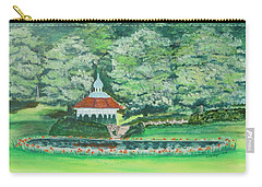 Carry-all Pouch featuring the painting Eden Park  Cincinnati Ohio by Diane Pape