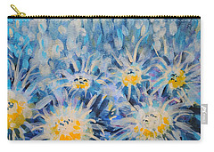 Carry-all Pouch featuring the painting Edentian Garden by Holly Carmichael