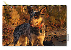 Carry-all Pouch featuring the photograph Edge Of Glory by James Peterson