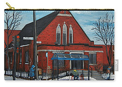 Eglise Baptiste Evangelique De La Grace De Verdun  Carry-all Pouch by Reb Frost