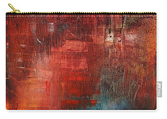 Carry-all Pouch featuring the painting Egotistical Bypass by Jason Williamson