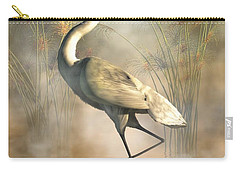 Egret Carry-all Pouch by Daniel Eskridge