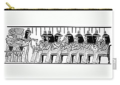 Egyptian Ladies 1886 Drawing Carry-all Pouch