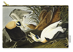 Eider Ducks Carry-all Pouch by John James Audubon