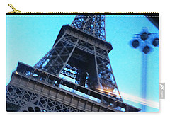 Eiffel In Motion Carry-all Pouch