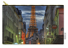 Eiffel Over Paris Carry-all Pouch