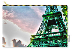 Eiffel Tower 8 Carry-all Pouch by Micah May