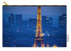Eiffel Tower At Twilight Carry-all Pouch