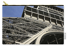 Carry-all Pouch featuring the photograph Eiffel Tower by Belinda Greb