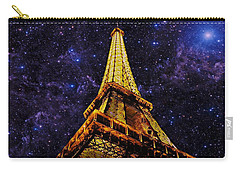 Eiffel Tower Photographic Art Carry-all Pouch