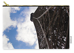 Carry-all Pouch featuring the photograph Eiffel Tower by Tiffany Erdman
