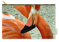 Figure Eight Flamingo Carry-all Pouch