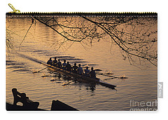 Eight Man Crew Rowing Along Montlake Cut  Carry-all Pouch