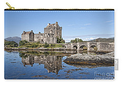 Eilean Donan Castle Reflections Carry-all Pouch