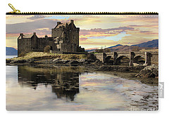 Carry-all Pouch featuring the photograph Eilean Donan Castle Scotland by Jacqi Elmslie