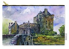 Eilean Donan Castle Scotland Carry-all Pouch