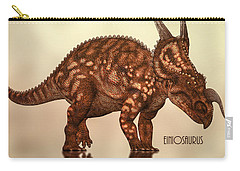 Einiosaurus Carry-all Pouch by Bob Orsillo