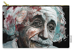 Einstein  Carry-all Pouch by Laur Iduc
