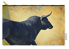 El Toro  Carry-all Pouch by Mary Machare