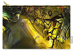 Carry-all Pouch featuring the digital art Elaboration Of Day Into Dream by Richard Thomas