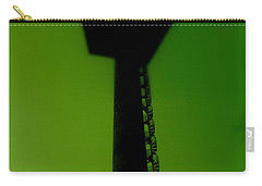 Carry-all Pouch featuring the photograph Elastic Concrete Part Four by Sir Josef - Social Critic - ART