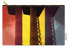 Carry-all Pouch featuring the photograph Elastic Concrete Part Three by Sir Josef - Social Critic - ART