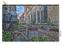 Carry-all Pouch featuring the photograph Elburg Alley by Frans Blok