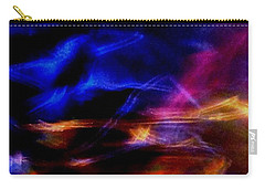 Carry-all Pouch featuring the photograph Electric Chaos by Mike Breau