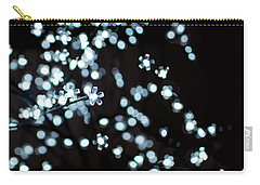 Electric Cherry Blossoms At Night Abstract Carry-all Pouch