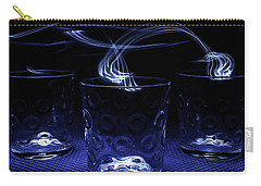 Carry-all Pouch featuring the photograph Electric Cocktails - Light Painting by Steven Milner