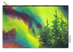 Electric Green In The Sky 2 Carry-all Pouch