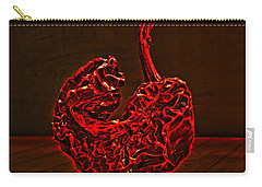 Electric Red Pepper Carry-all Pouch