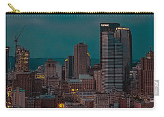 Electric Steel City Carry-all Pouch