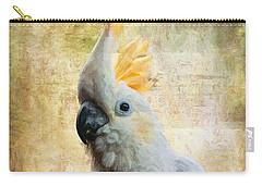 Elegant Lady Carry-all Pouch by Lois Bryan