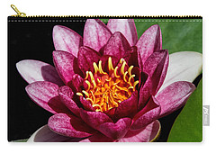 Elegant Lotus Water Lily Carry-all Pouch by Denyse Duhaime
